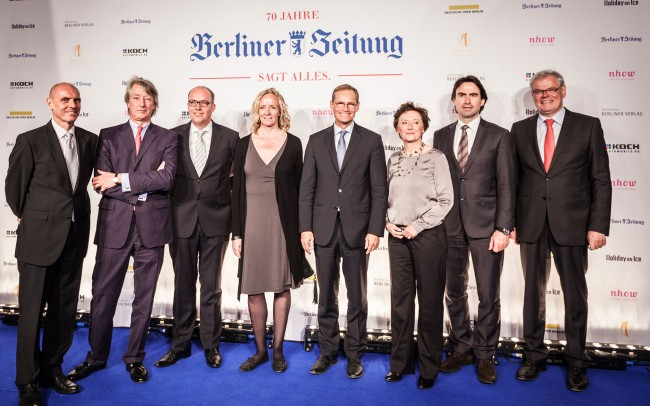 Event Berlin: 70 Jahre Berliner Zeitung