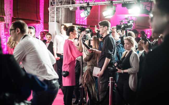 JT Touristik Pink Carpet ITB 2016