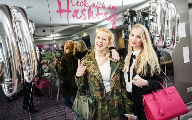 #leckmichamhashtag Bloggerbrunch Winter 2016